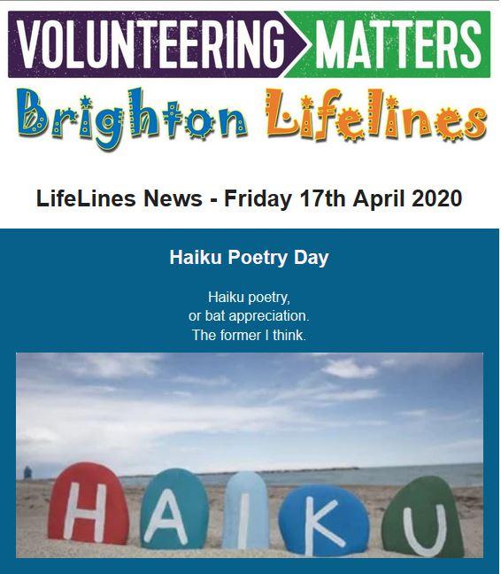 Lifelines News - Friday 17th April 2020