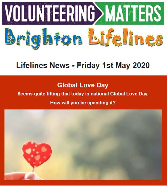 Lifelines News - Friday 1st May 2020