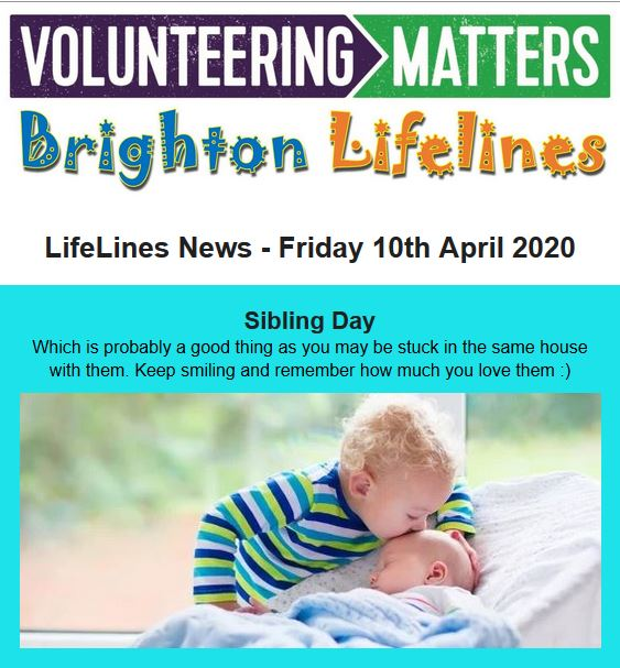 Lifelines News - Friday 10th April 2020