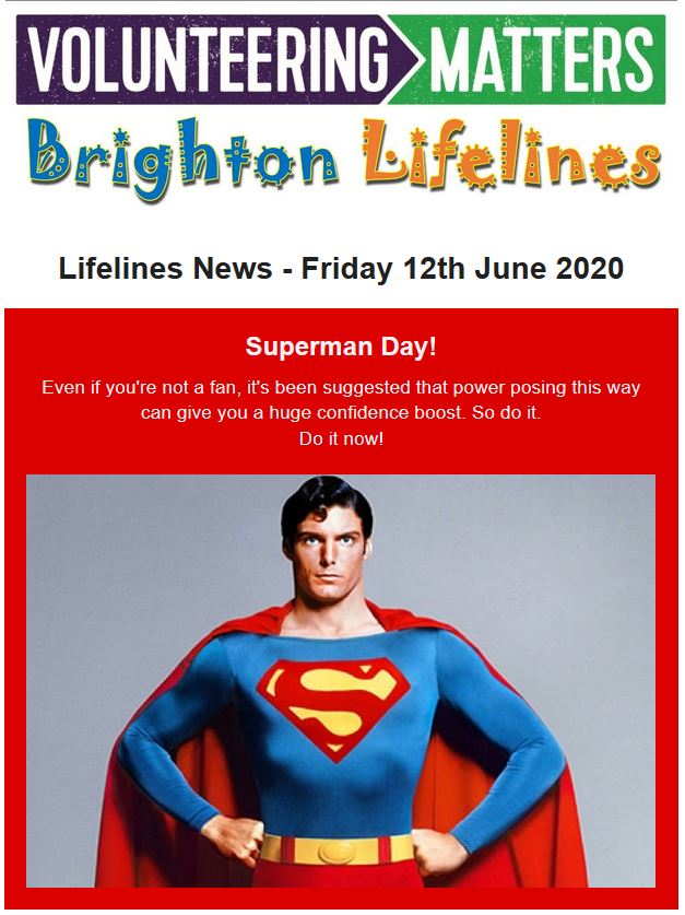 Lifelines News - Friday 12th June 2020