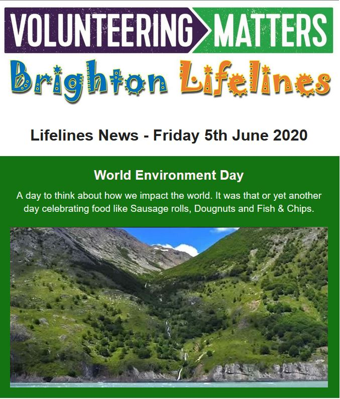 Lifelines News - Friday 5th June 2020