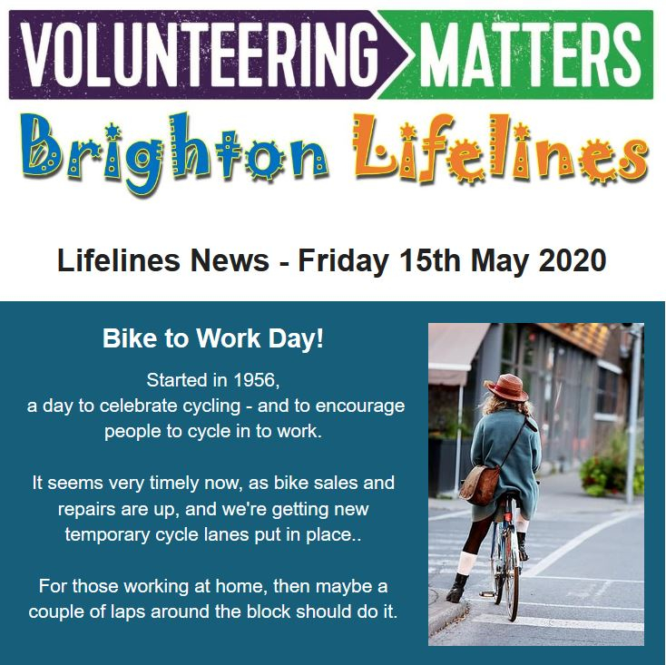 Lifelines News - Friday 15th May 2020