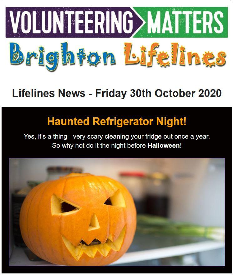 Lifelines News - Friday 30th October 2020