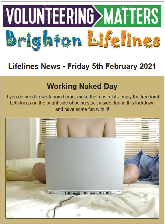Lifelines News - Friday 5th February 2021