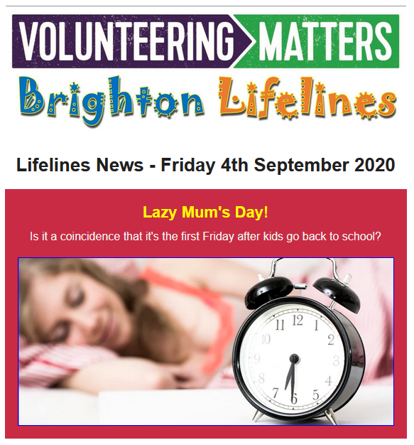 Lifelines News - Friday 4th September 2020
