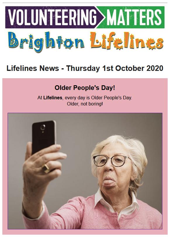 Lifelines News - Thursday 1st October 2020