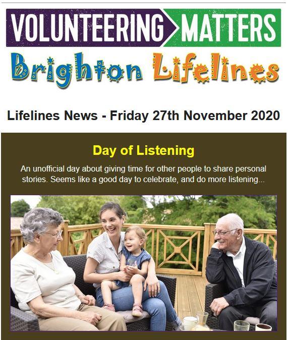 Lifelines News - Friday 27th November 2020